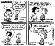 I can't stand people - peanuts