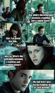 Twilight - edward and boner