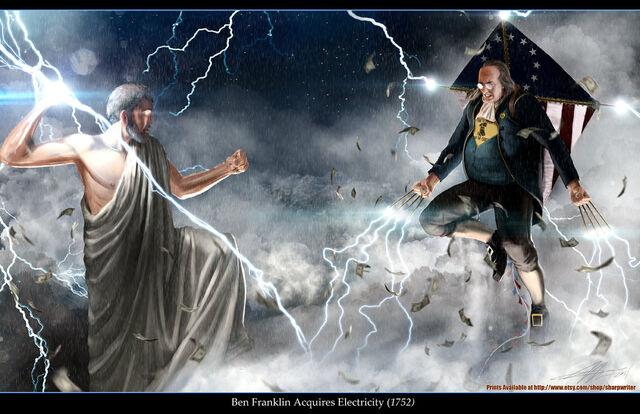 File:Ben franklin vs zeus by sharpwriter-d4hjp6a.jpg