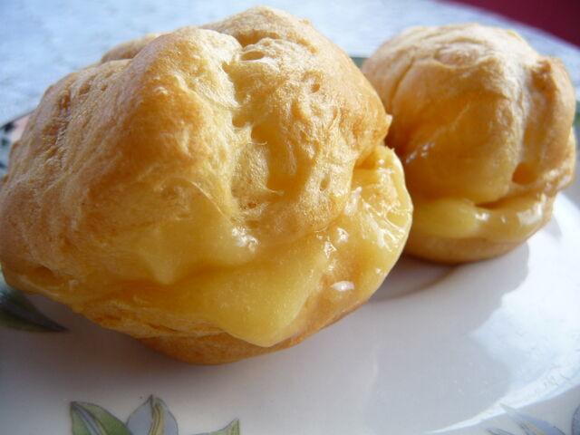 Image - Choux au lemon curd.jpg   Wikia Saveurs du monde ...