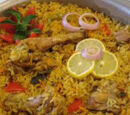 Biriyani de légumes