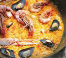 Paella marinière