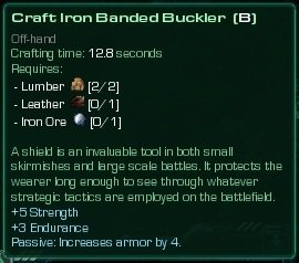 Iron Banded Buckler