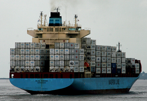 File:Container ship Olga Maersk.jpg