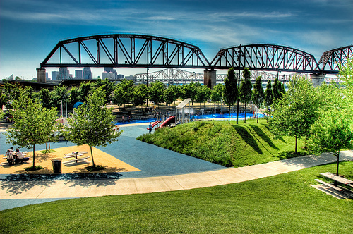 File:View of the River park in Louisville.jpg
