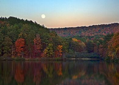 Alabama Autumn Moon