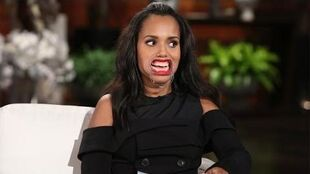 Kerry Washington Plays 'Speak Out'