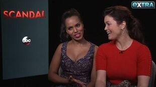 Kerry Washington & Bellamy Young Tease Upcoming Shocking 'Scandal' Premiere
