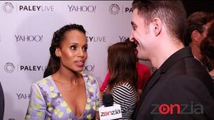 """Scandal"" Cast at the Paley Center for Media BTVRtv"