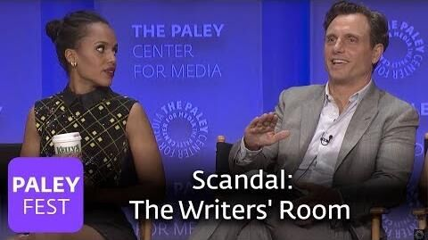 Scandal - We've Never Been Allowed in the Writers' Room