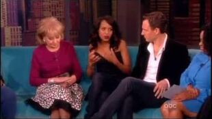 Scandal cast on The View 5 14 13 part 1