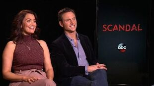 'Scandal' Bellamy Young & Tony Goldwyn Tease Show's Midseason Return