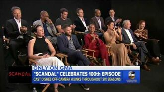 'Scandal' cast reflects on reaching the show's 100th episode