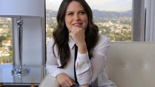Scandal's Katie Lowes Imagines Huck and Quinn's (Very Twisted) Wedding