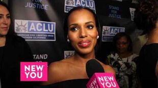 Scandal star Kerry Washington talks Health, Fashion, and Scandal's big Finale