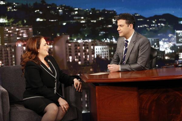 4x15 Susan Ross on Jimmy Kimmel Live