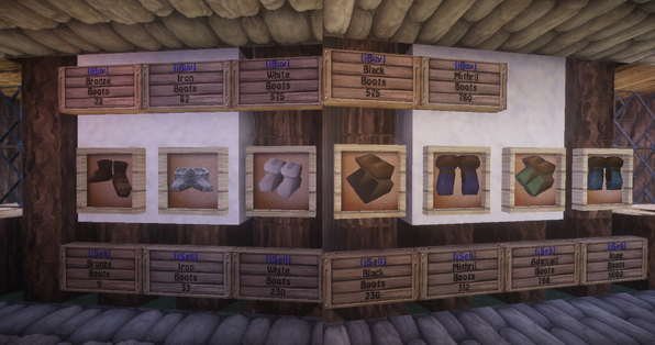 Boots shop