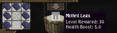 Mithril Legs