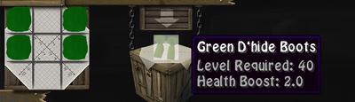 Green Dboots