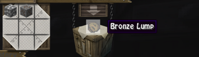 Bronze Lump