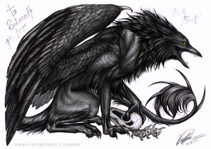 Raven creature