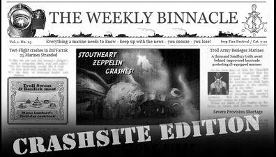Weekly Binnacle 2