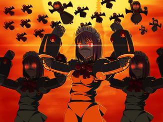 Game cg-hisui-maid-mecha-mecha hisui-melty blood-official art-takeuchi takashi-the big o-tsukihime-type-moon