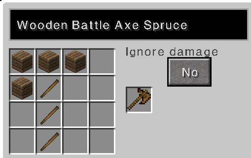 File:Wooden battle axe recipe spruce.PNG