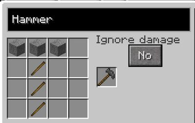 Hammer recipe