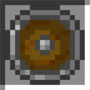 Round stone shield icon