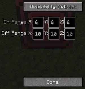 Redstone block menu 1