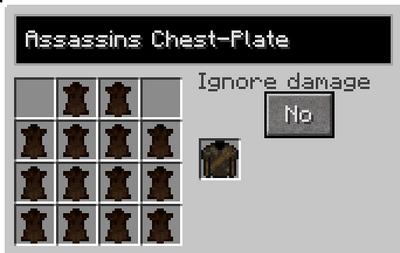 Assassins chest recipe
