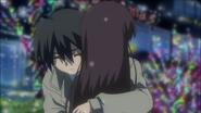 Makoto embraces Kotonoha