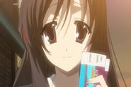 Kotonoha invites Makoto anime