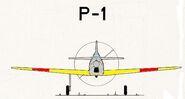 P-1frontfarbe