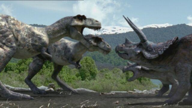 File:Tyrannosaurus Hunt.jpg