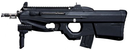 FN F2000 Tactical with Folding Foregrip - 5.52mm
