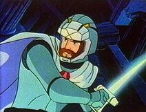 Ulysses with pistol sword