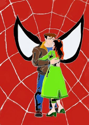 File:Peter Parker & Mary-Jane Watson-Parker In Spider-Man Unlimited style by Niv Lugassi (December 16th, 2012 - January 4th, 2013).jpg