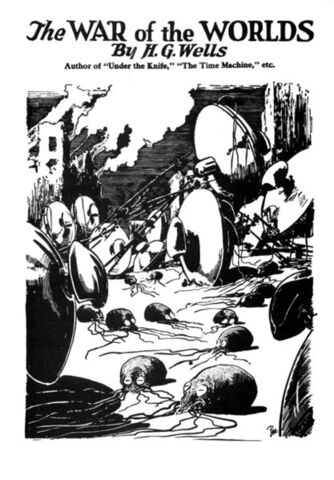File:War of the Worlds original cover bw.jpg