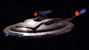 Enterprise NX-01 port front