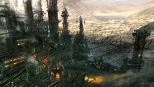 Factory slum by jOuey