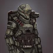 Standard Abraxian Empire Soldier