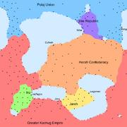 Dzajhema Political Map