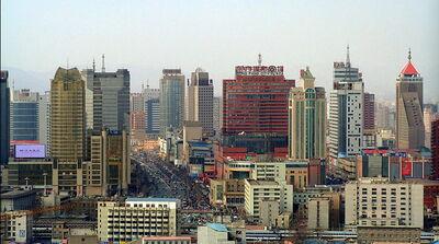 Changshu skyline