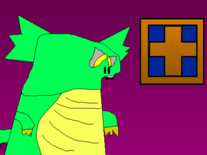 Demon Lizard Man