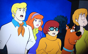 Gang in Scooby-Doo's Ghost Gallery