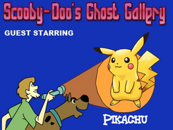 Scooby-Doo meets Pikachu