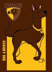 Scooby Dee Hawthorn Hawks