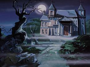 Haunted Island mansion